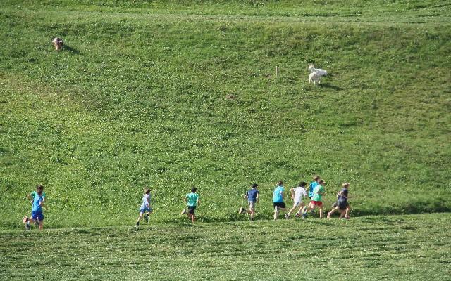 Učenci predmetne stopnje uspešni na šolskem tekmovanju v krosu.