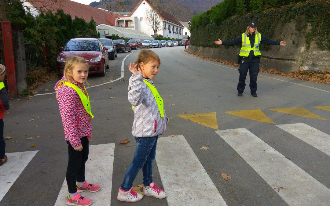 Obisk policiste v 1. razredu