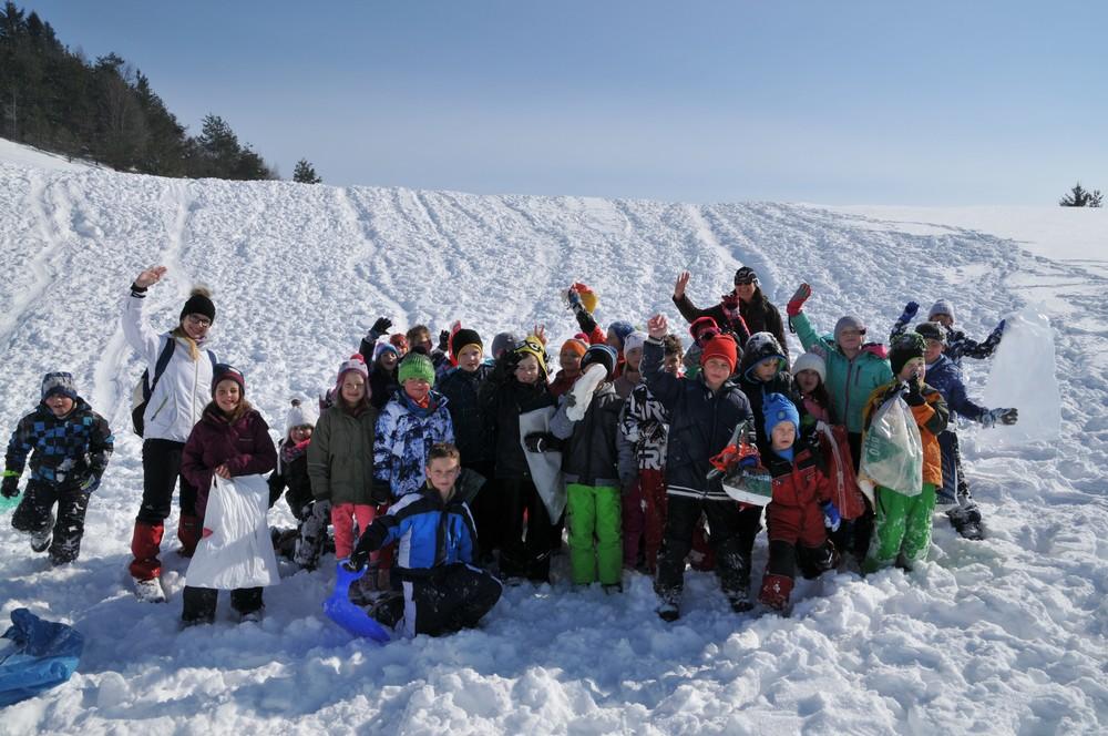 Radosti na snegu – 2. razred