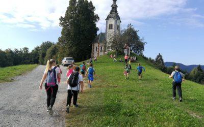 Pohod na Sv. Andreja – 4. razred
