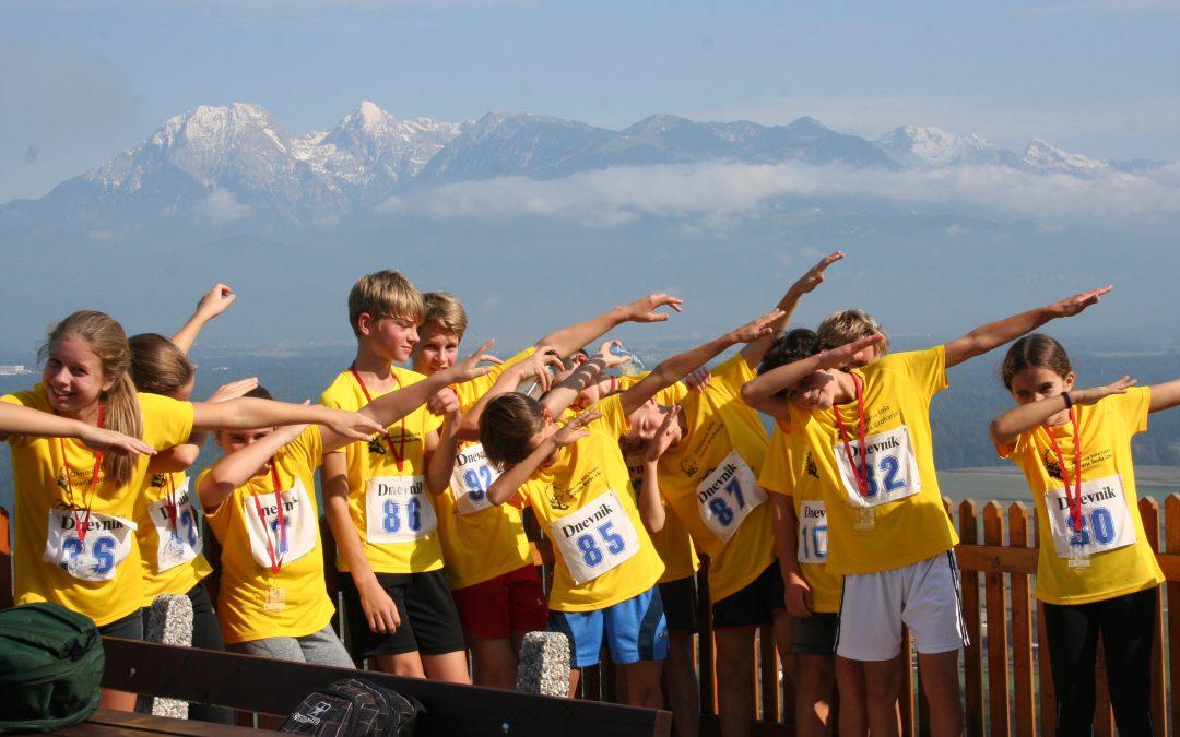 Na državnem tekmovanju v gorskem teku naši učenci odlični…