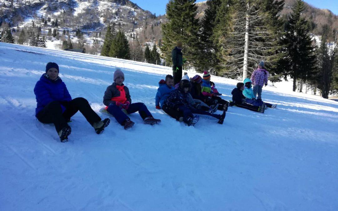 Zimski športni dan na Soriški planini – 4. razred